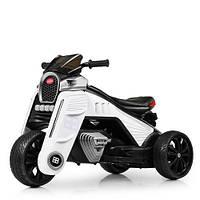 Детский мотоцикл M 4113EL-1 белый, фото 1