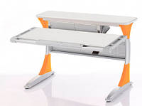 Детский стол растущий Harvard Comf-Pro KD-333 Orange с кабинетом тик