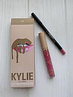 Набор помада и карандаш Kylie Bare