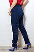 Женские классические брюки со стрелками больших размеров, костюмная ткань, размеры 48-50, 50-52, 52-54, 54-56, фото 4