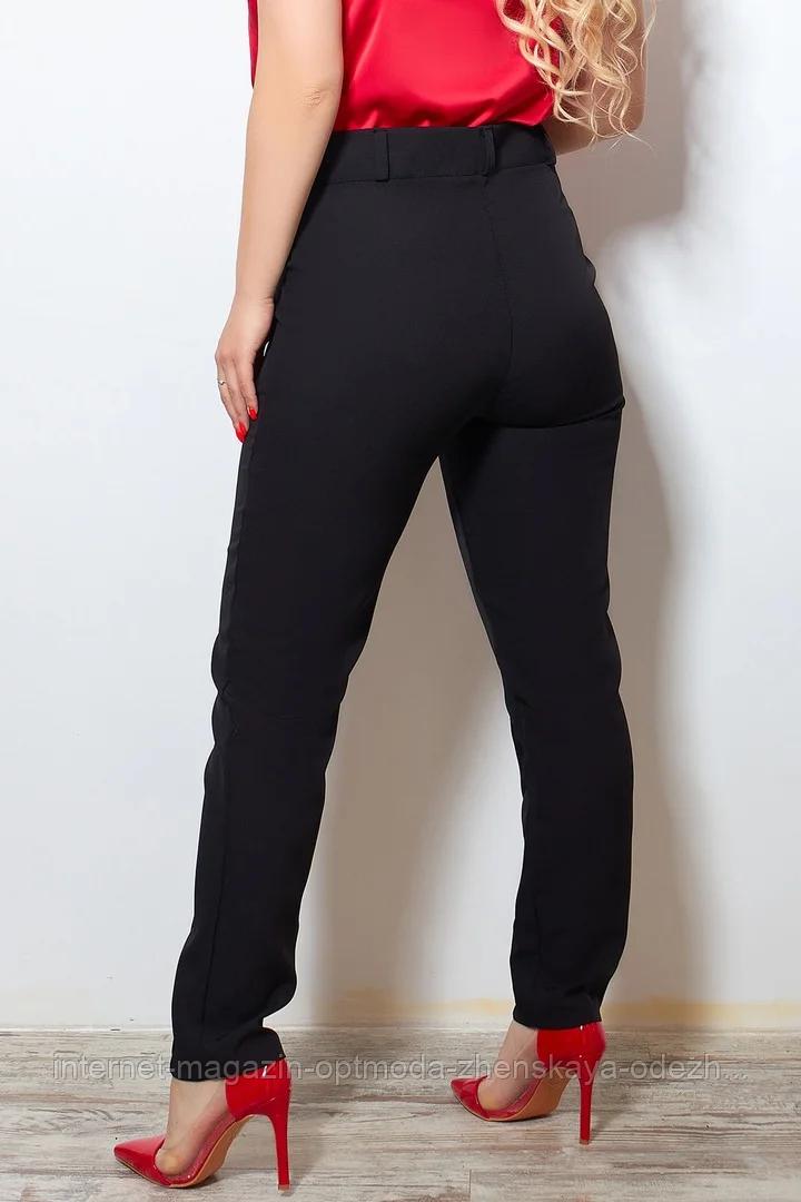 Женские классические брюки со стрелками больших размеров, костюмная ткань, размеры 48-50, 50-52, 52-54, 54-56