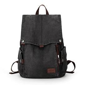 Городской рюкзак Muzee WB1883 Black (USB)