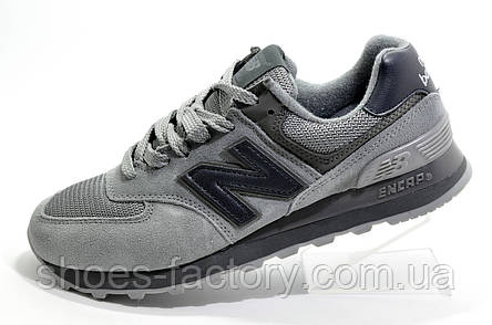 Кроссовки унисекс в стиле New Balance 574, Dark Gray, фото 2