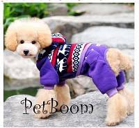 """Теплый комбинезон для собак в стиле ЭТНО - """"Северные мотивы"""". Одежда для собак."""