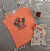 Піжама жіноча з шортами розмір XL, фото 1