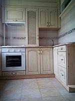 Кухня шпон светлый ясень