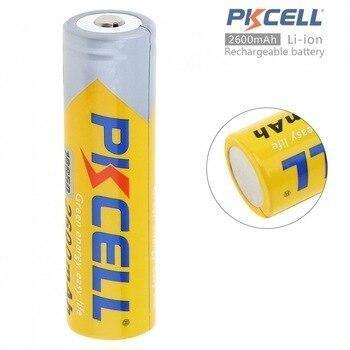 Аккумуляторы 18650 PKCELL 2600 mAh (1шт)