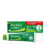 ROHTO Acnes Mentholatum Лечебный крем для проблемной кожи лица (выведение угрей и прыщей)