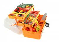 """Детский игровой набор инструментов в чемодане """"Строитель"""""""