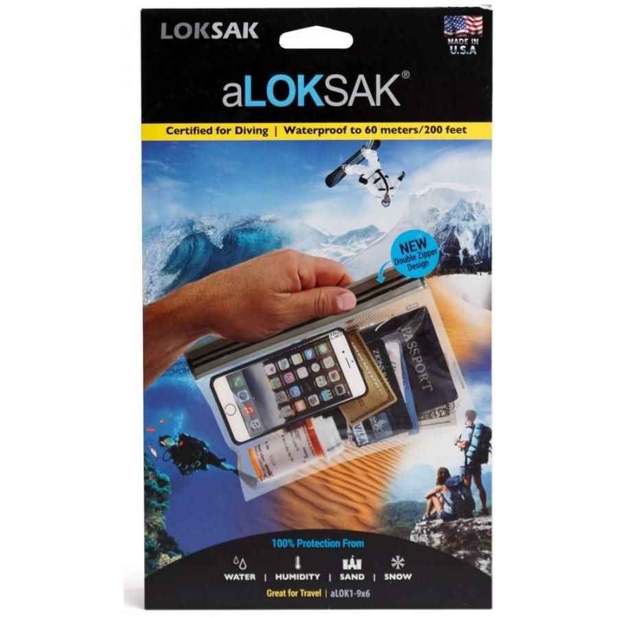 Водонепроницаемый пакет ALoksak ALOK1-9х6