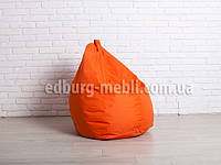 Кресло мешок груша средний| оранжевый Oxford, фото 1