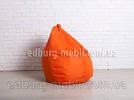 Кресло мешок груша средний  оранжевый Oxford