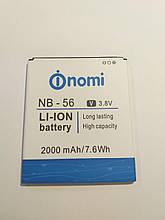 Аккумулятор батарея АКБ NB-56 NOMI I503 новый