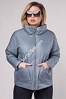 Короткая куртка большого размера Feneegere 9924, фото 1