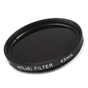 Нейтрально-серый светофильтр RISE (UK) 43 мм ND8