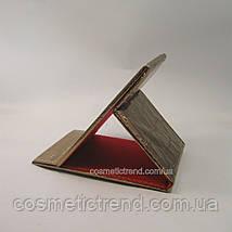 Дзеркало-планшет косметичний настільне розкладне (дорожній) T5207bronze, фото 2