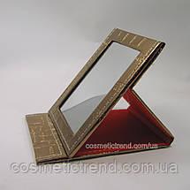 Дзеркало-планшет косметичний настільне розкладне (дорожній) T5207bronze, фото 3