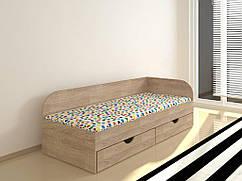 Ліжко Соня-2 (без ящиків) Дуб Сонома