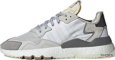 Мужские кроссовки Adidas Nite Jogger White Grey CG5950, Адидас Найт Джогер