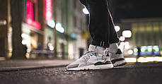 Мужские кроссовки Adidas Nite Jogger White Grey CG5950, Адидас Найт Джогер, фото 2