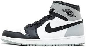 Женские кроссовки Nike Air Jordan 1 Retro High OG Barons 555088-104, Найк Аир Джордан 1, фото 2