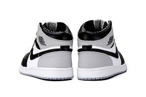 Женские кроссовки Nike Air Jordan 1 Retro High OG Barons 555088-104, Найк Аир Джордан 1, фото 3