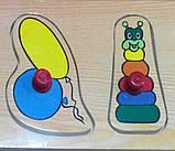 Деревянная рамка-вкладыш Игрушки-2 (от 18 мес.), фото 2