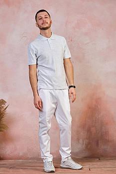 Мужская футболка-поло JHK OCEAN POLO Белый (WH) S