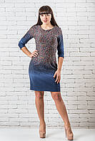 Красивое платье женские от производителя  36-42 синий