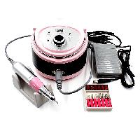 Аппарат для маникюра и педикюра ZS-606, 35 000 об/мин, 65 Вт, розовый