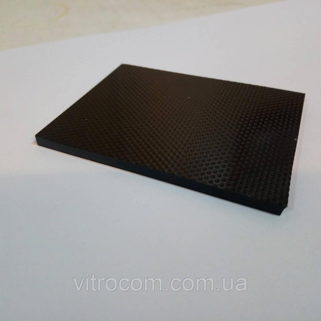 Стекло керамическое огнестойкое 4 мм чёрное