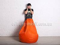 Кресло мешок груша Большой | оранжевый Oxford, фото 1
