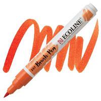 Маркер-кисть акварельный оранжевый темный Brush Pen Ecoline Royal Talens, 11502370