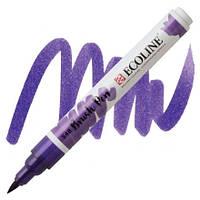 Маркер-кисть акварельный сине-фиолетовый Brush Pen Ecoline Royal Talens, 11505480