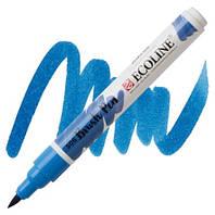 Маркер-кисть акварельный ультрамарин темный Brush Pen Ecoline Royal Talens, 11505060