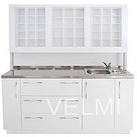 Лаборатория с сантехникой VM524 Белый (Velmi TM)