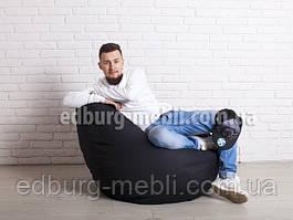 Кресло мешок груша Большой   черный Oxford