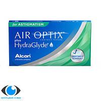 Контактные линзы Air Optix plus HydraGlyde for Astigmatism