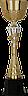 Кубок  3113, золотисто'-серый