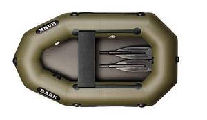 Одноместная надувная гребная лодка Bark B-190D книжка