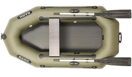 Одноместная надувная гребная лодка Bark B-220D книжка