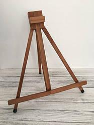 Детский деревянный мольберт тренога универсальный