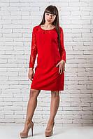 Красивое платье женское   44-48 красный