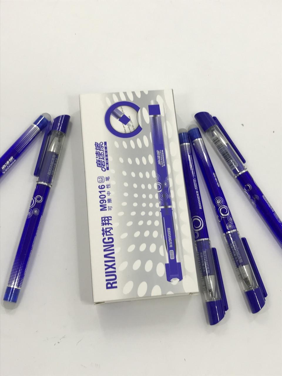 Ручка гелевая со стираемыми чернилами 9016 синяя