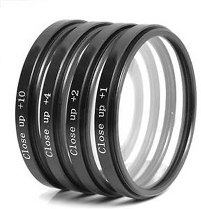 Набор светофильтров - макролинз CLOSE UP +1 +2 +4 +10 диаметром 72mm - 4 штуки, фото 2