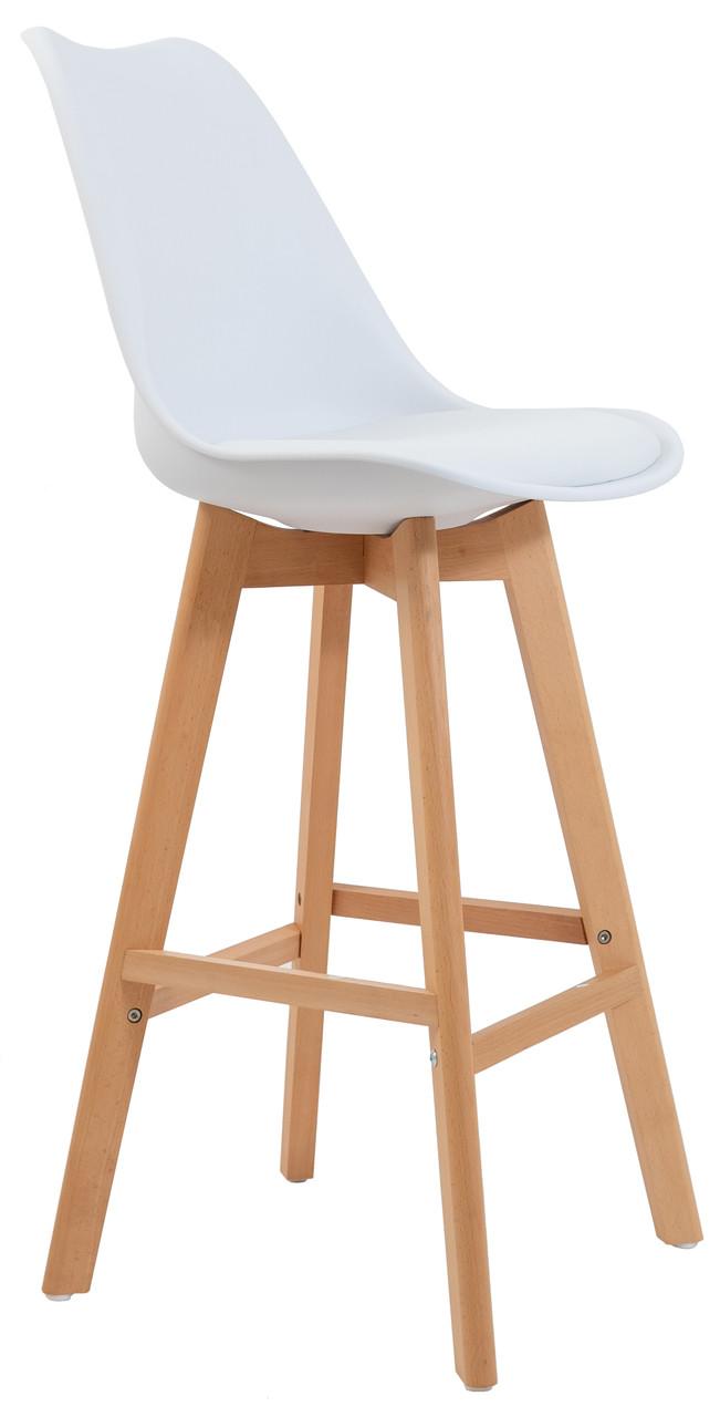 Стул барный Жаклин CX (с мягким сиденьем) (цвет Белый)