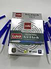 Ручка маслиная LUVA CL-7 Tri-Flash синяя, фото 2
