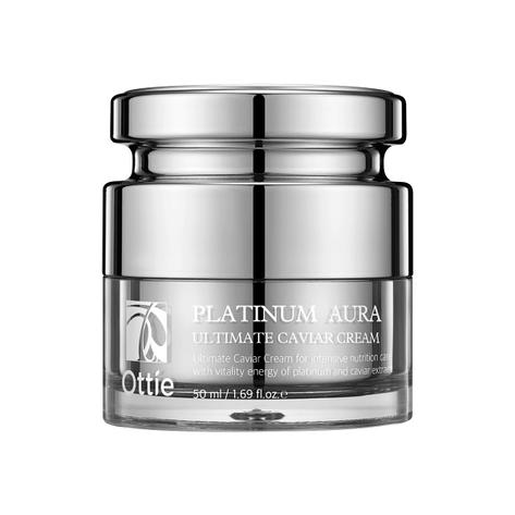 Антивозрастной питательный крем платины Ottie Platinum Cream 50 мл (016003), фото 2