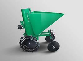 Картофелесажалка (Зелёная) мотоблочная 20л.  ТМ Агромоторс