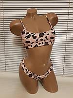 Купальник майка леопард копия Victoria's Secret 2020